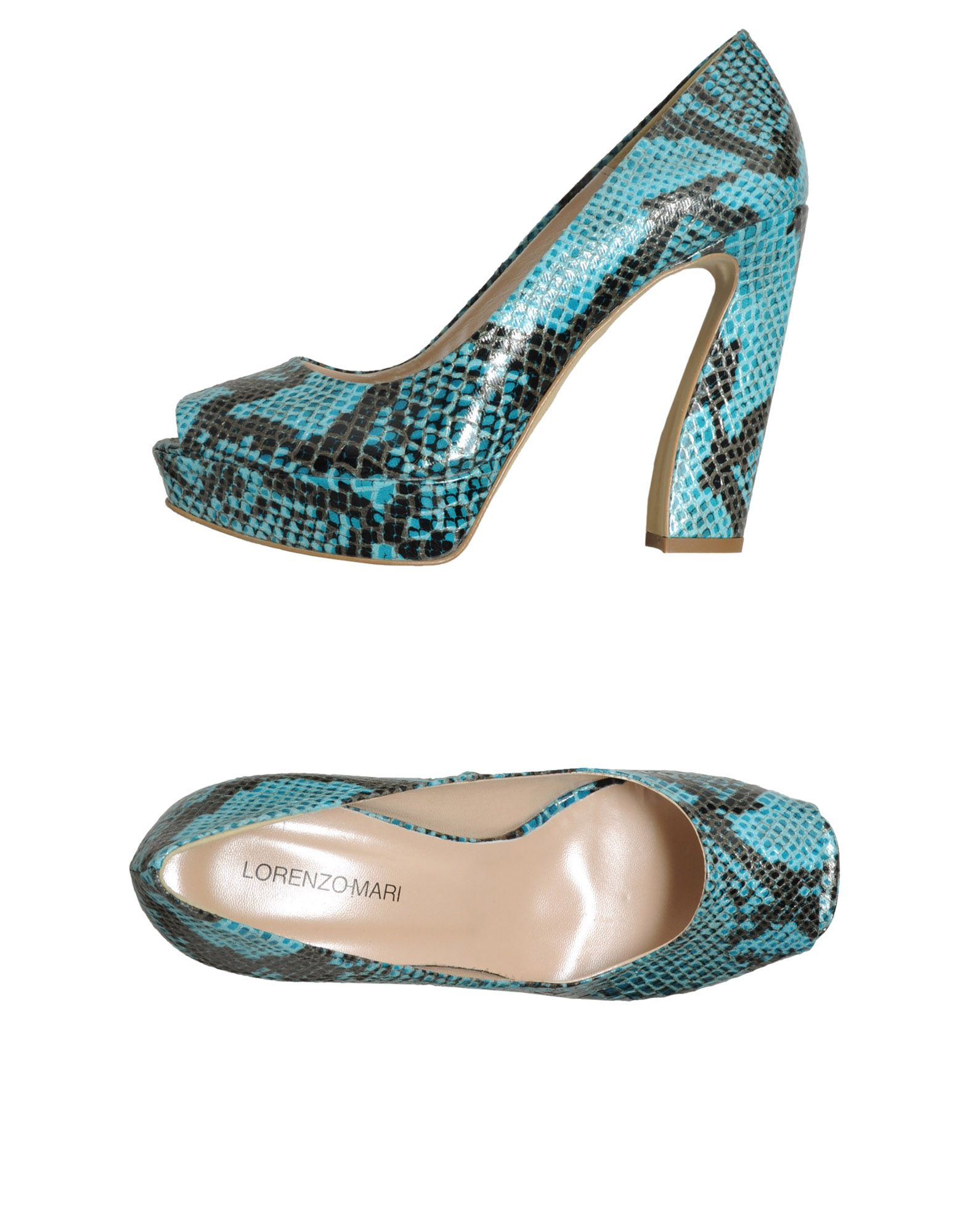 LORENZO MARI Туфли с открытым носком цены онлайн