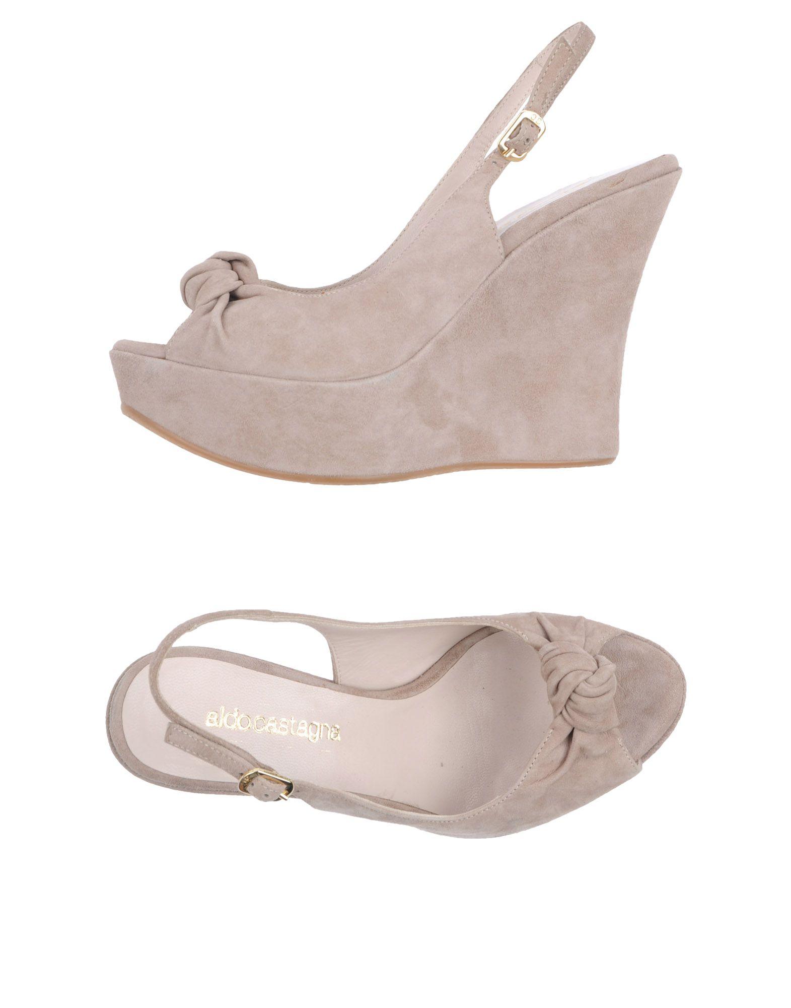 ALDO CASTAGNA Обувь на танкетке цены онлайн