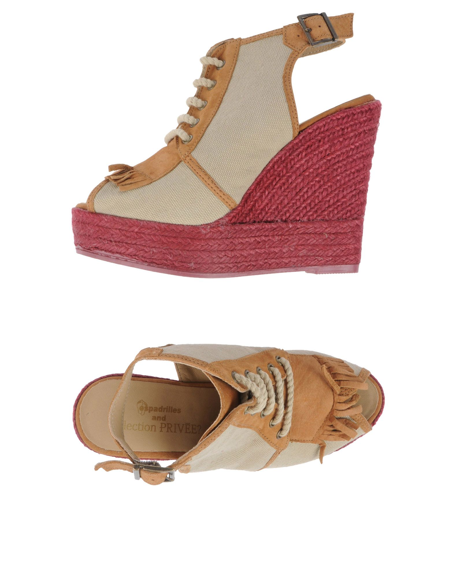 ESPADRILLES AND COLLECTION PRIVEE | ESPADRILLES and COLLECTION PRIVEE? Espadrilles | Goxip