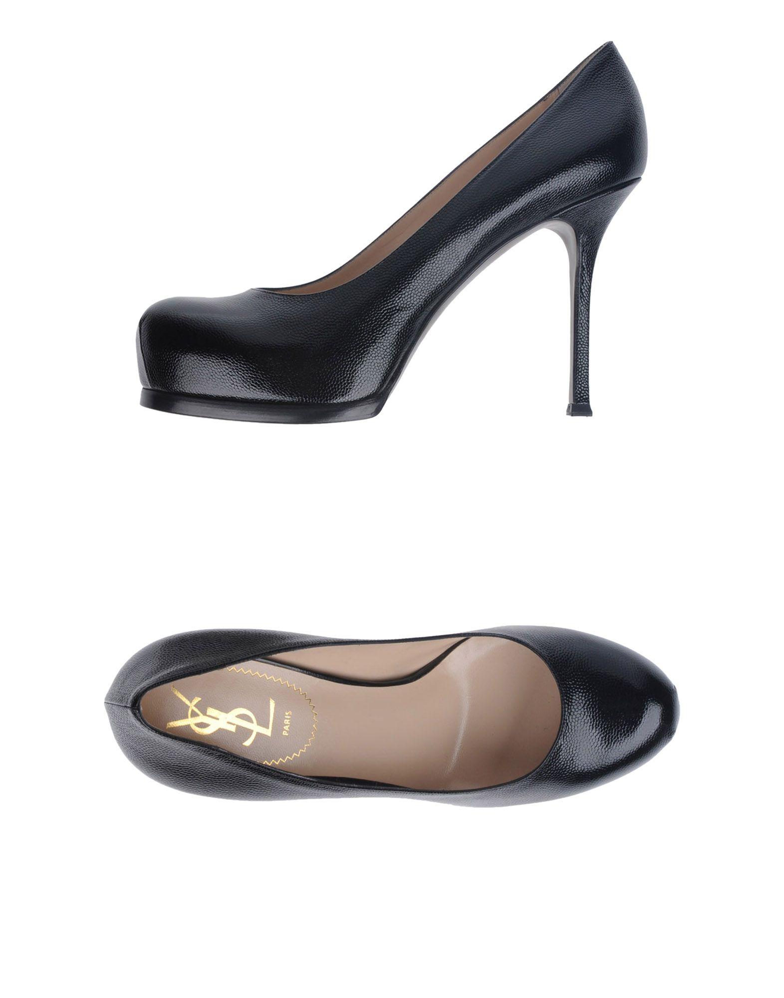 где купить SAINT LAURENT Туфли на платформе по лучшей цене