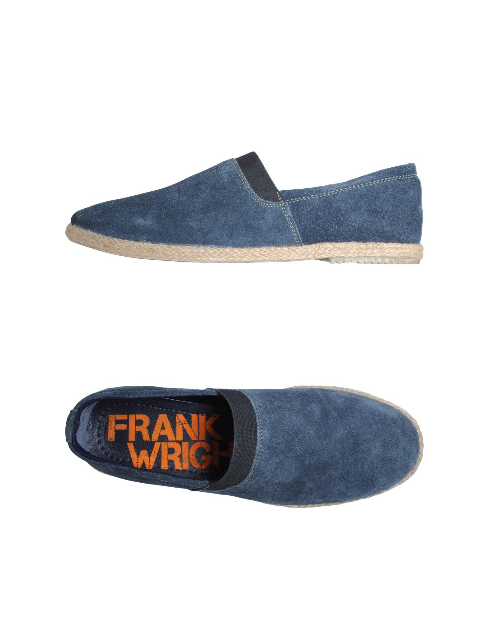 FRANK WRIGHT Эспадрильи туфли frank wright frank wright fr621amlee37