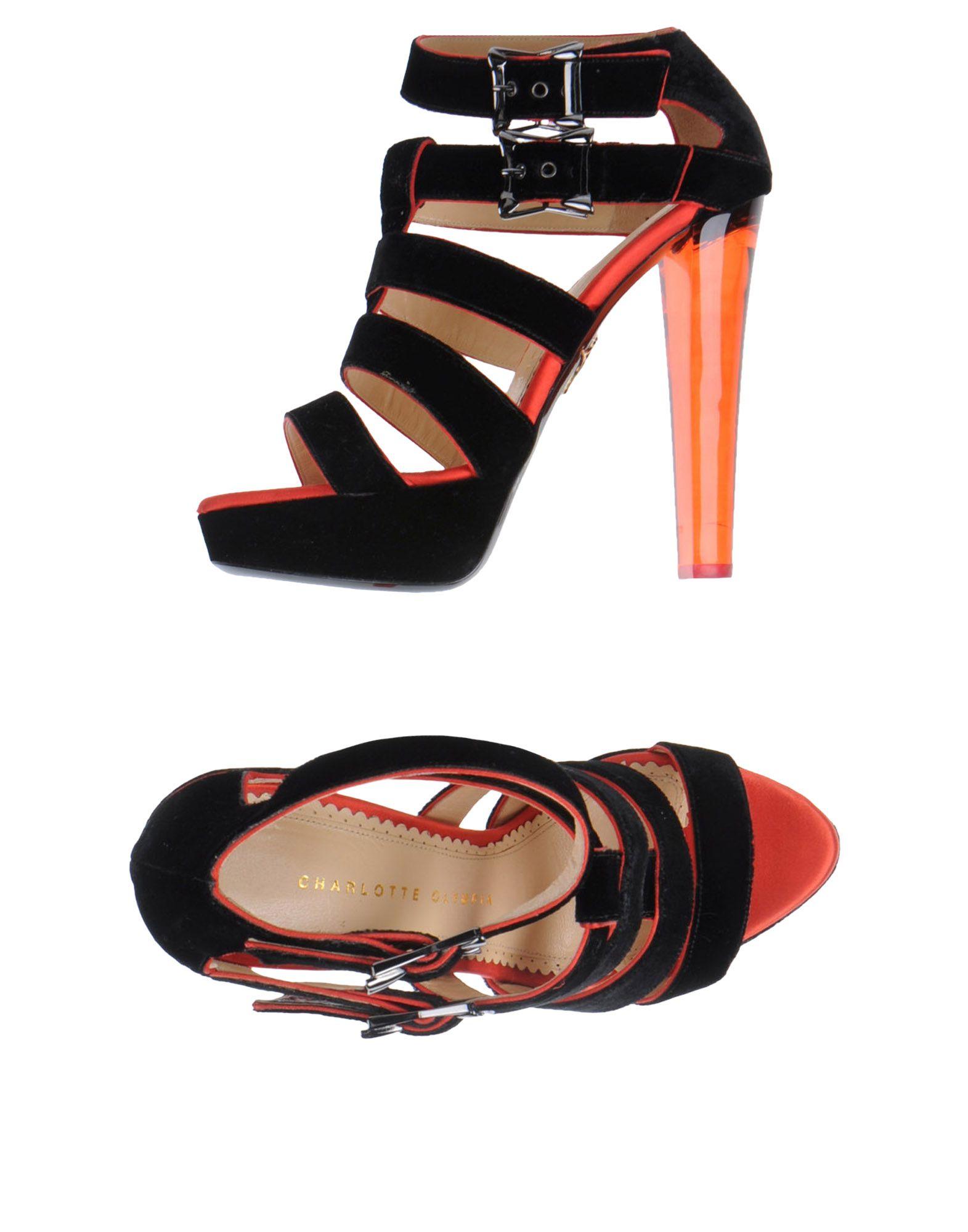 Фото - CHARLOTTE OLYMPIA Босоножки на платформе обувь на высокой платформе dkny