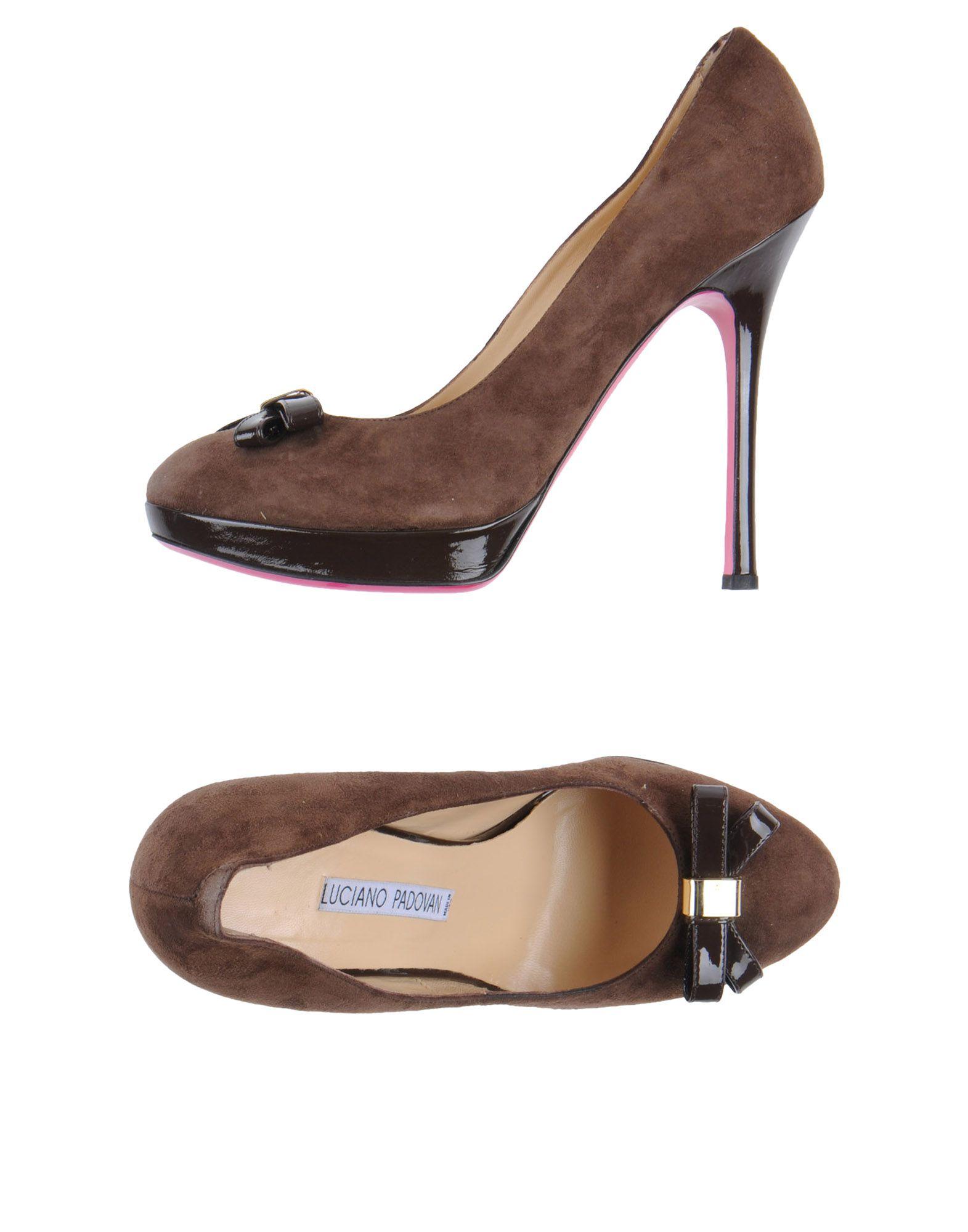 LUCIANO PADOVAN Туфли на платформе цены онлайн