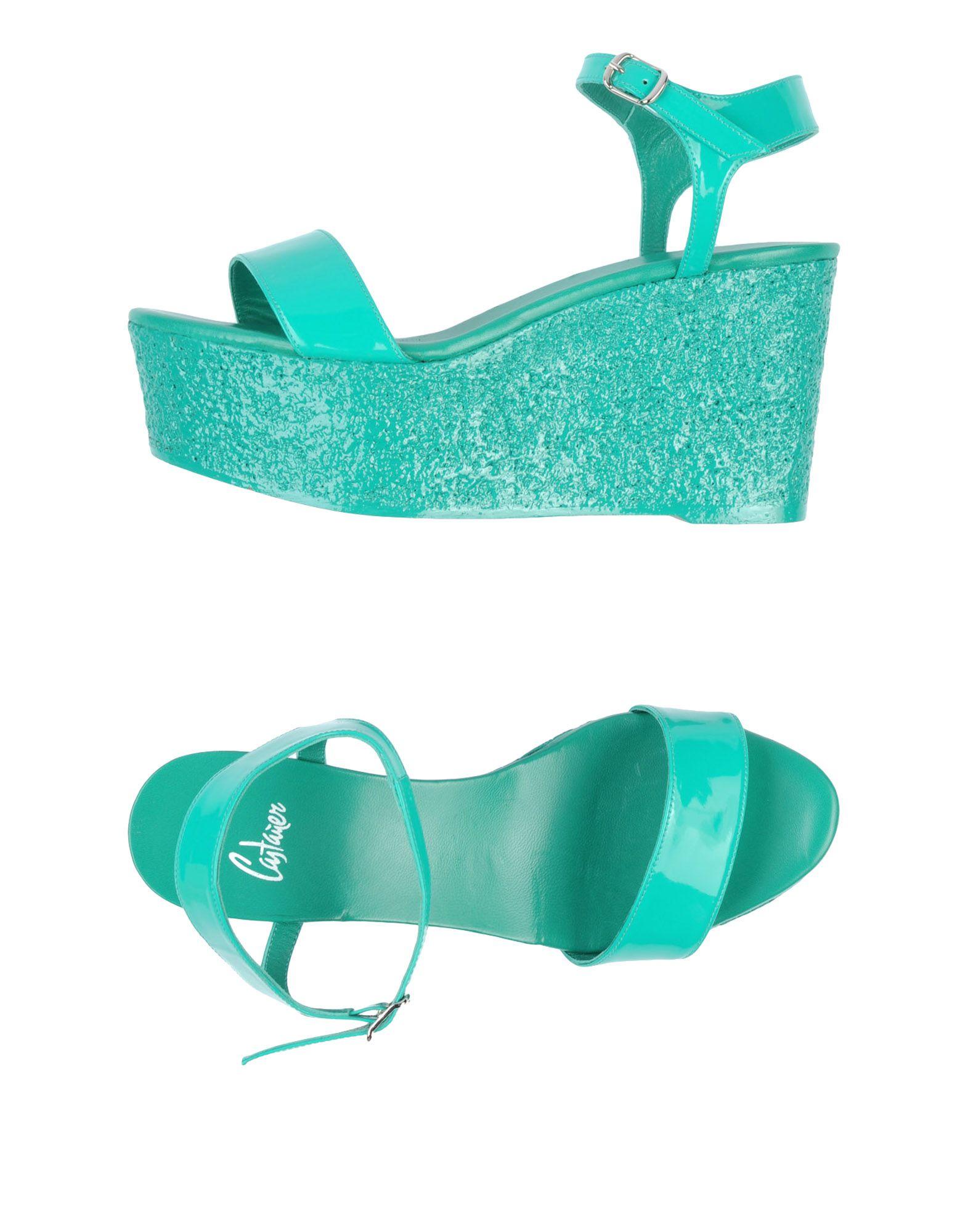 CASTAÑER Обувь на танкетке пляжная обувь peppa pig обувь на платформе танкетке