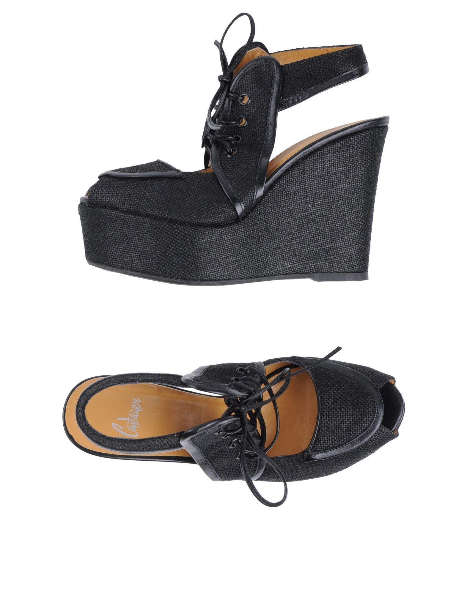 CASTAÑER Обувь на танкетке цены онлайн