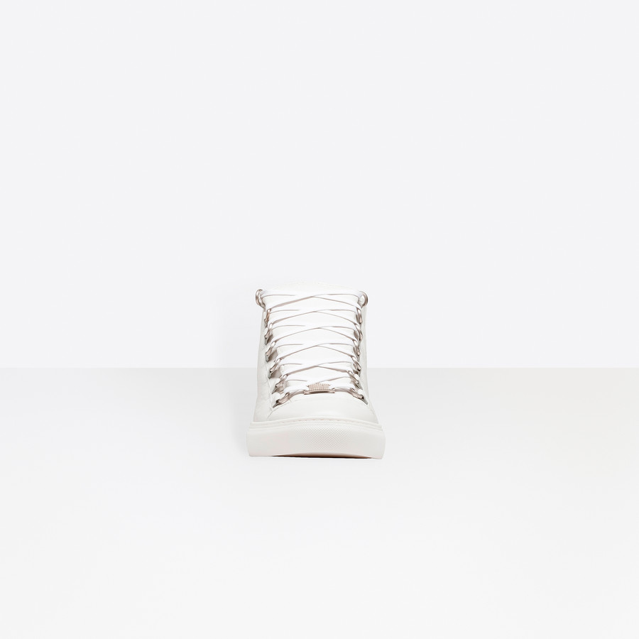 BALENCIAGA Shiny effect High Sneakers Arena Sneakers U i