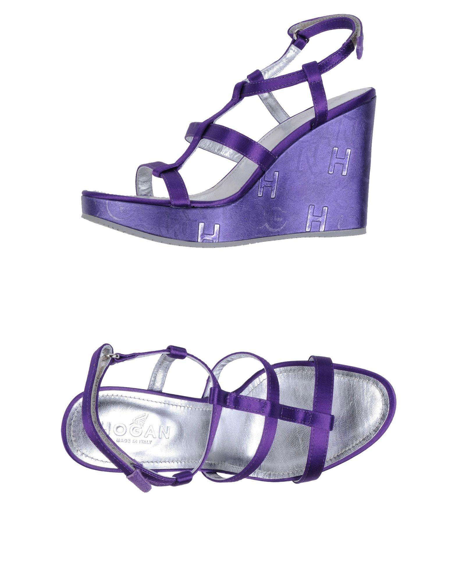 HOGAN Обувь на танкетке цены онлайн