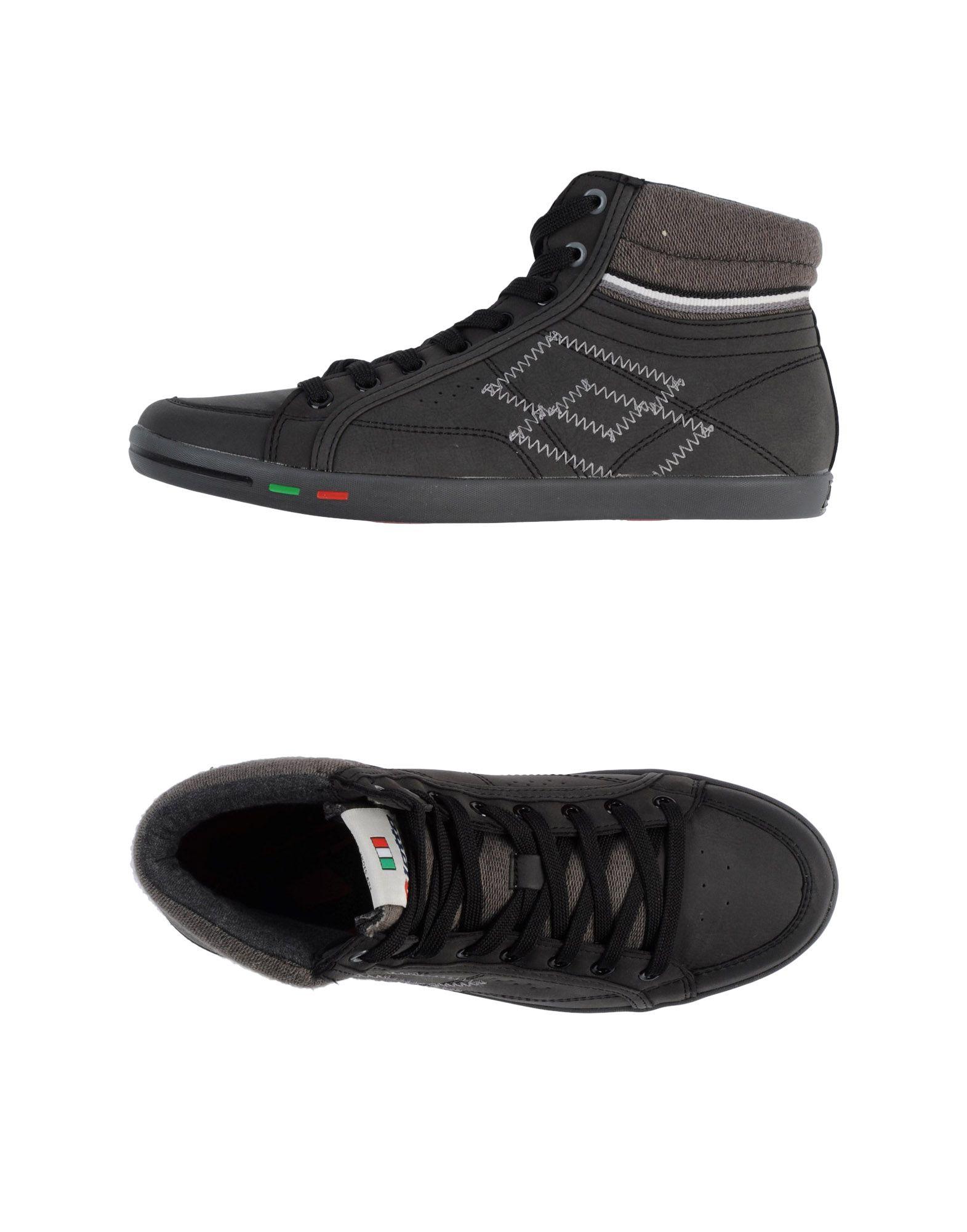 LOTTO Высокие кеды и кроссовки кроссовки lotto elff104 3