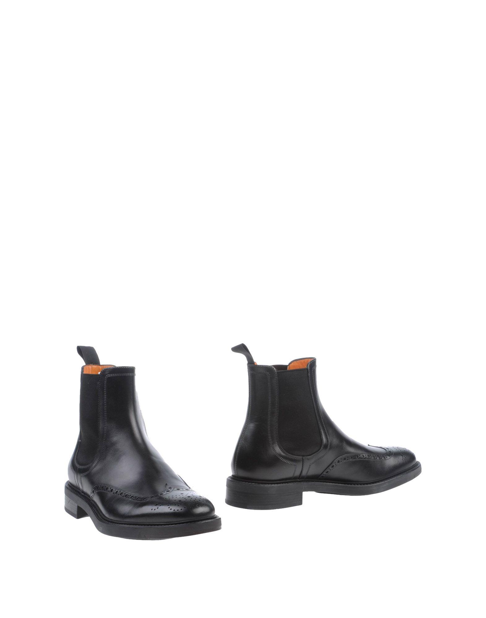Фото - SANTONI Полусапоги и высокие ботинки accademia полусапоги и высокие ботинки
