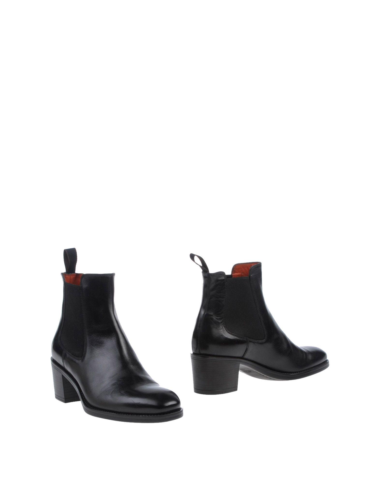 SANTONI Полусапоги и высокие ботинки grey mer полусапоги и высокие ботинки