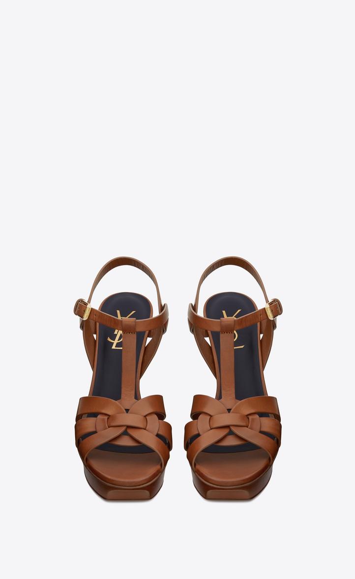 Ambre 85 Sandales En Cuir Verni Saint Laurent yWgp3gL