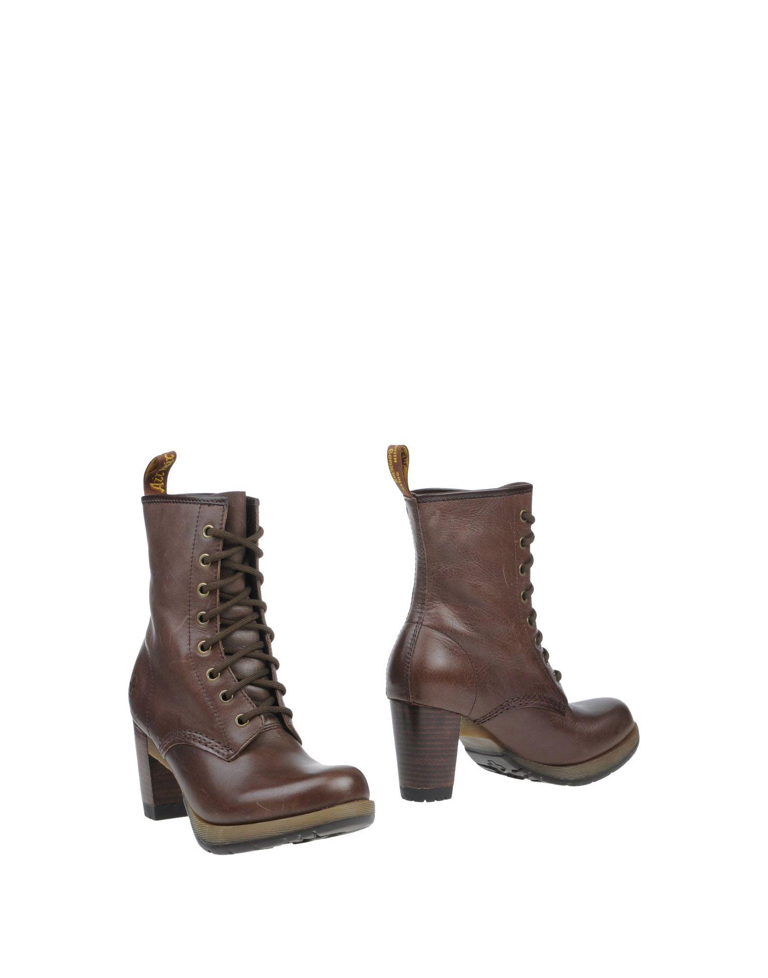 DR. MARTENS Полусапоги и высокие ботинки туфли dr martens 888 dr martens 2015 leonie 16533110 16533001