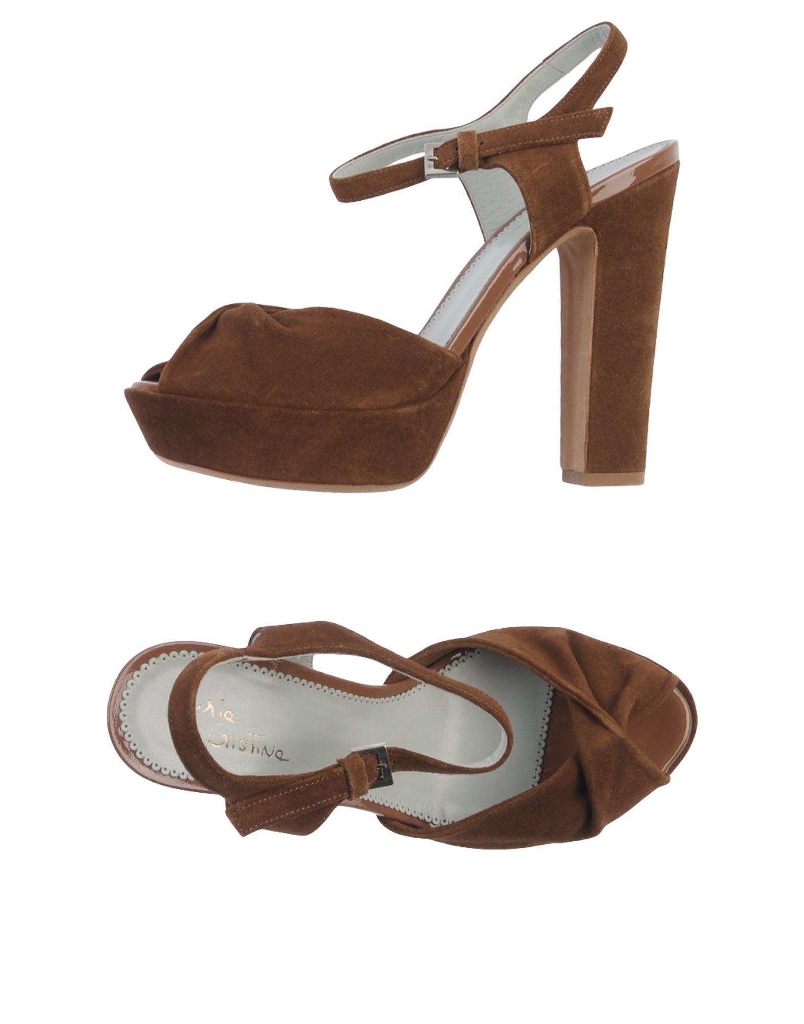MARIA CRISTINA Сандалии mabu by maria bk кожаные сандалии