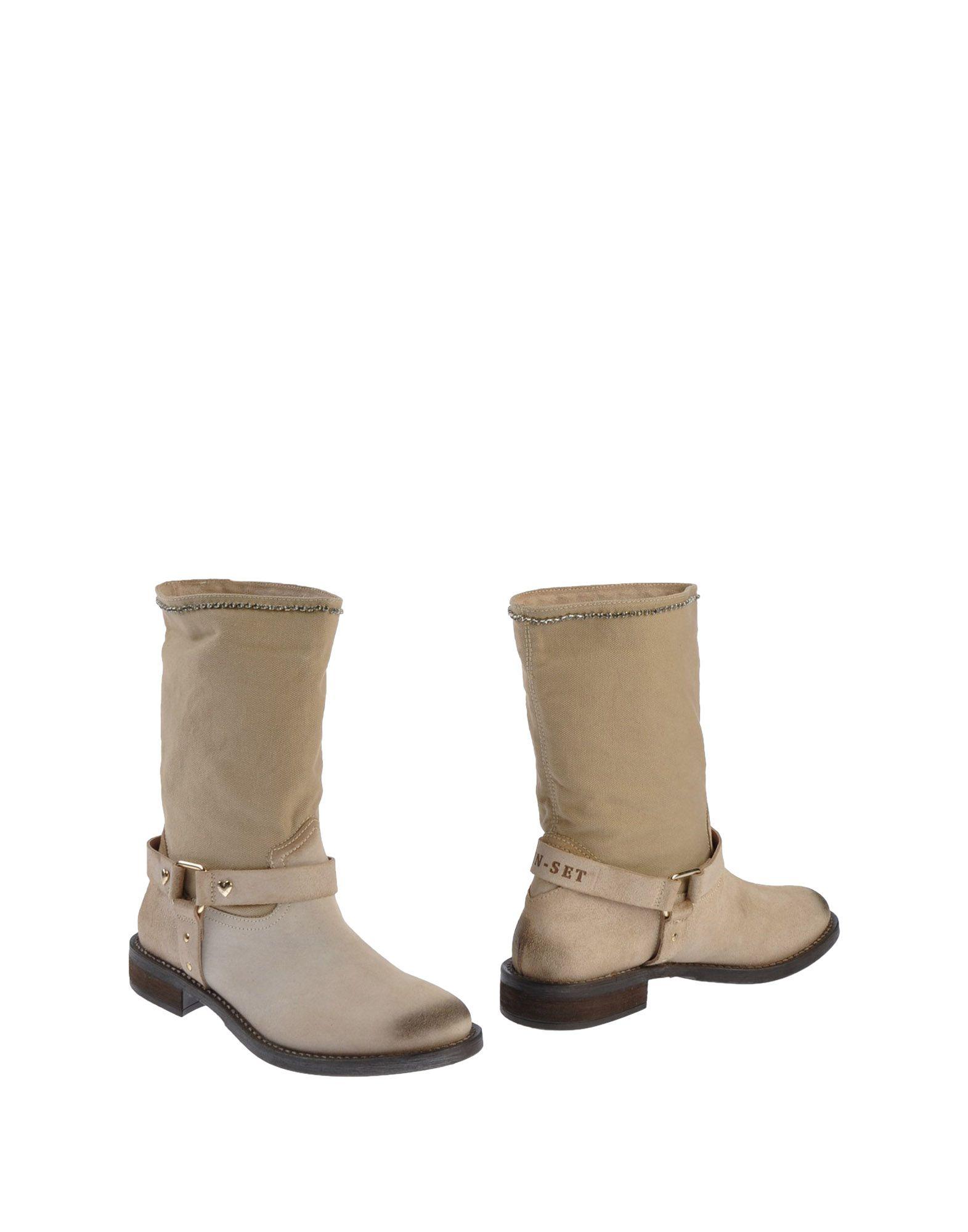 TWIN-SET Simona Barbieri Полусапоги и высокие ботинки шапка twin set simona barbieri twin set simona barbieri tw005cwumc31