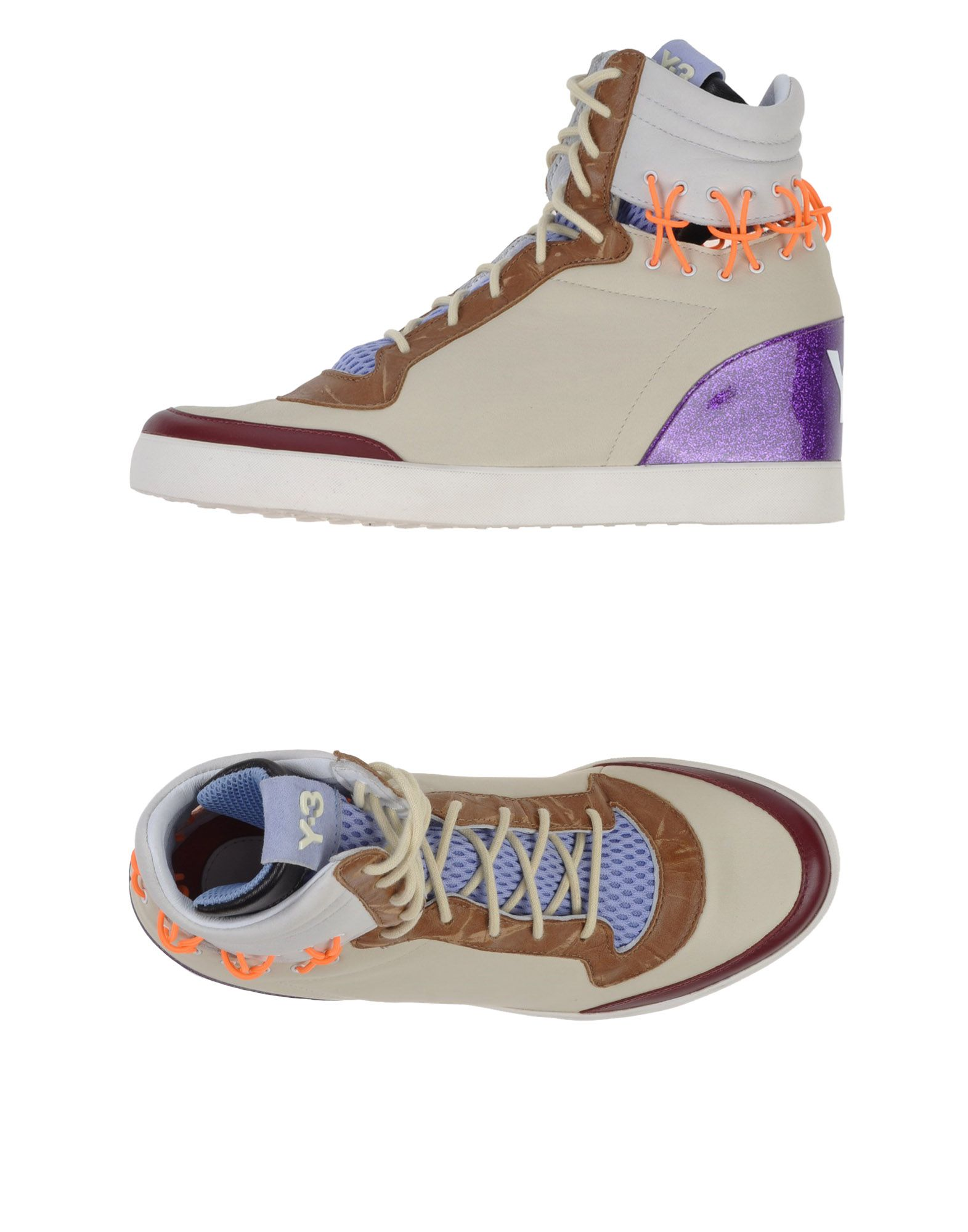 Y-3 Высокие кеды и кроссовки цены онлайн