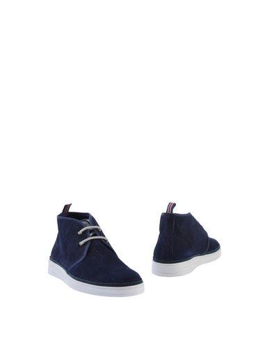 Фото - Полусапоги и высокие ботинки от BRIMARTS темно-синего цвета