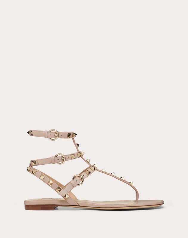 8600bb4d07b Rockstud Flat Thong Sandals