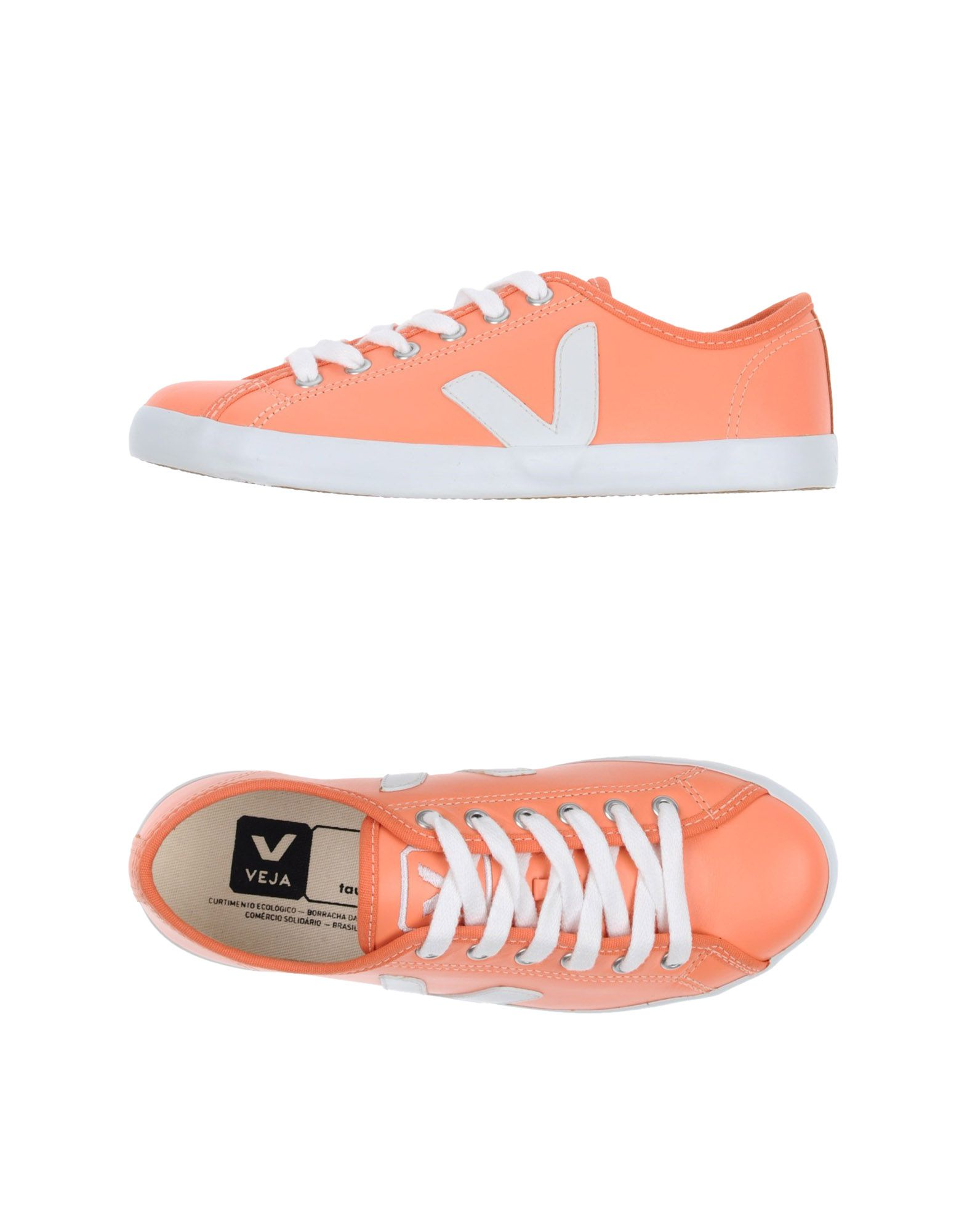 Veja Sneakers In Salmon Pink | ModeSens