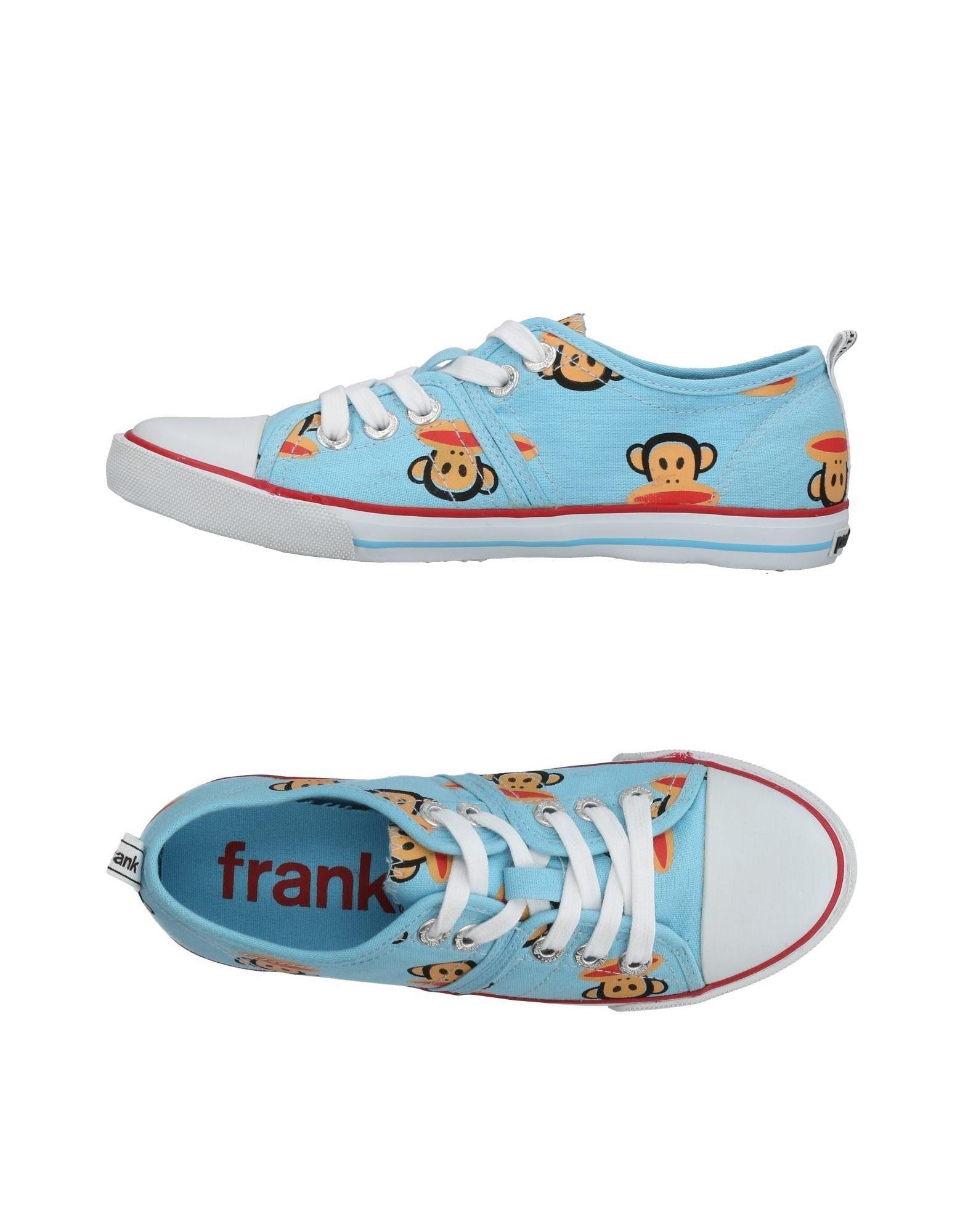 PAUL FRANK Низкие кеды и кроссовки