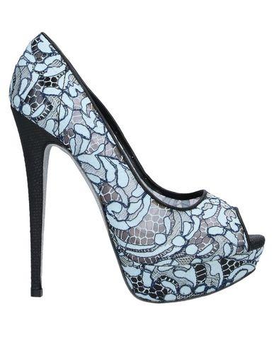 Фото - Женские туфли  небесно-голубого цвета