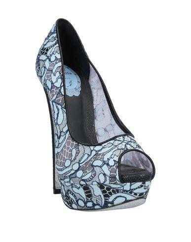 Фото 2 - Женские туфли  небесно-голубого цвета