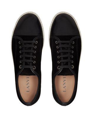 LANVIN DBB1 SUEDE CALFSKIN SNEAKER Sneakers U a