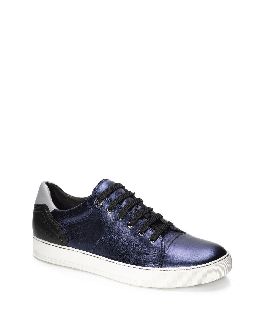 adf962ea1c451 Lanvin Nappa Sheepskin Sport Heel Low Sneaker, Sneakers Men   Lanvin ...