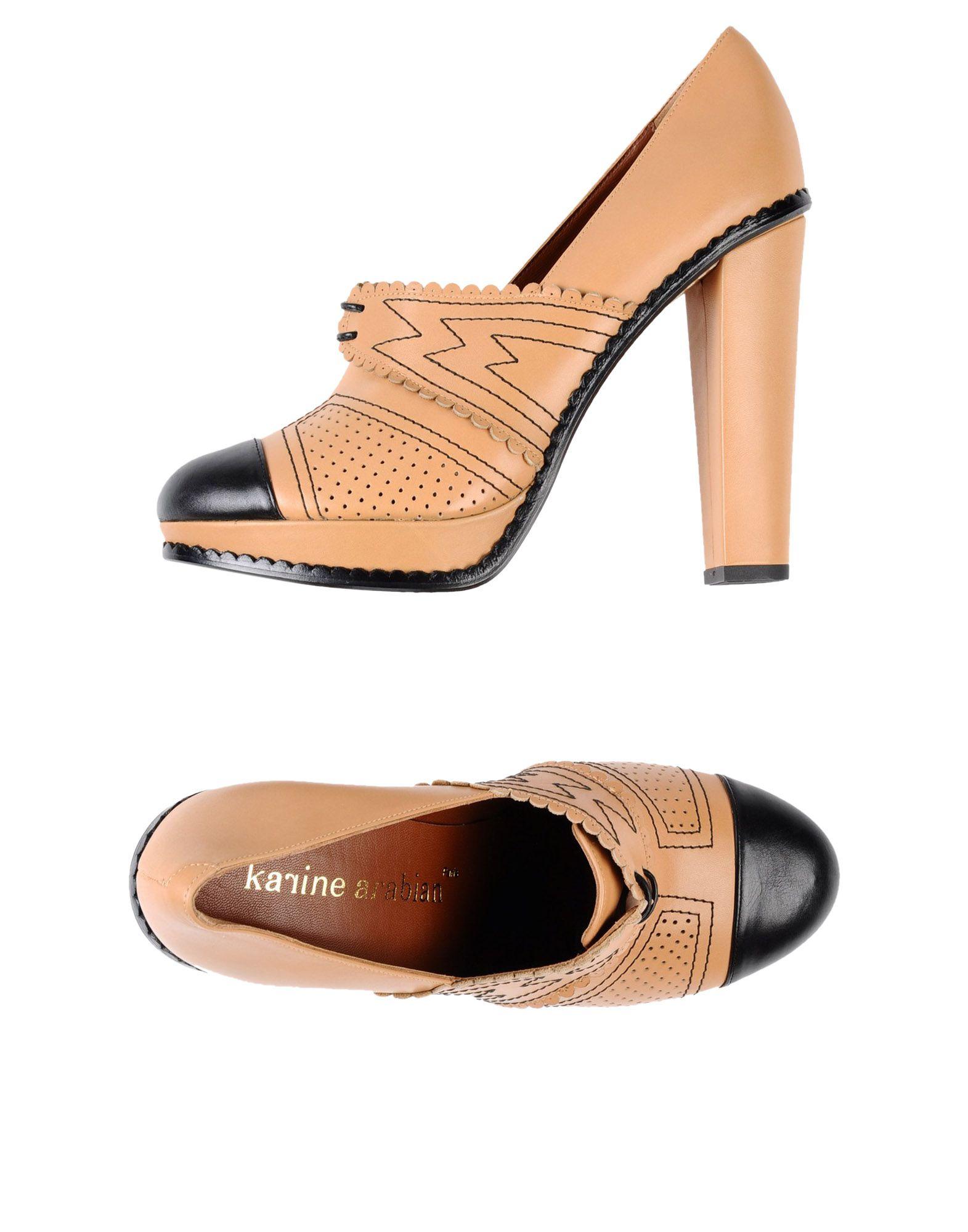 KARINE ARABIAN Обувь на шнурках цена