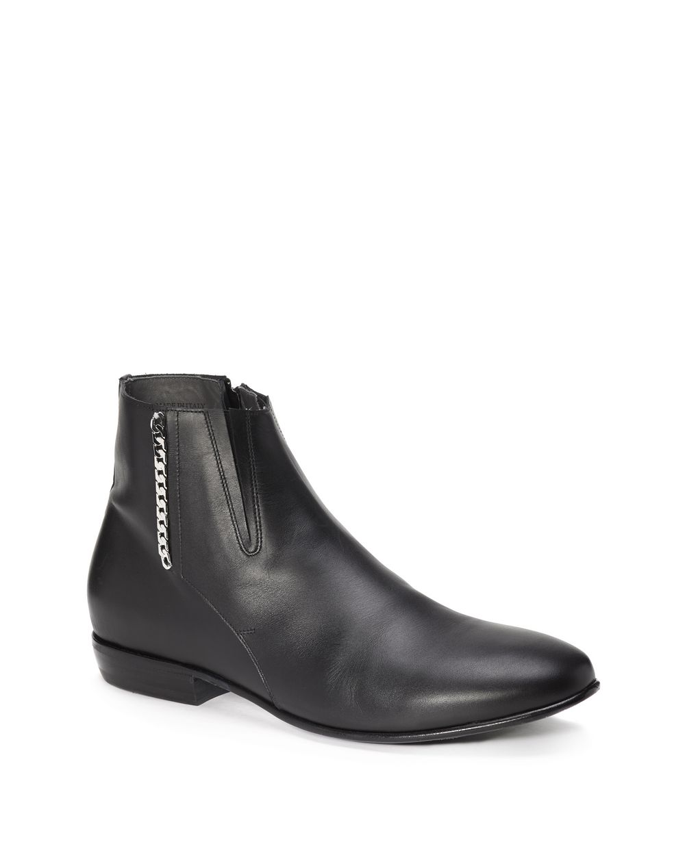 03f9f663cc9 Smooth calfskin chain low boot shoe - Lanvin ...