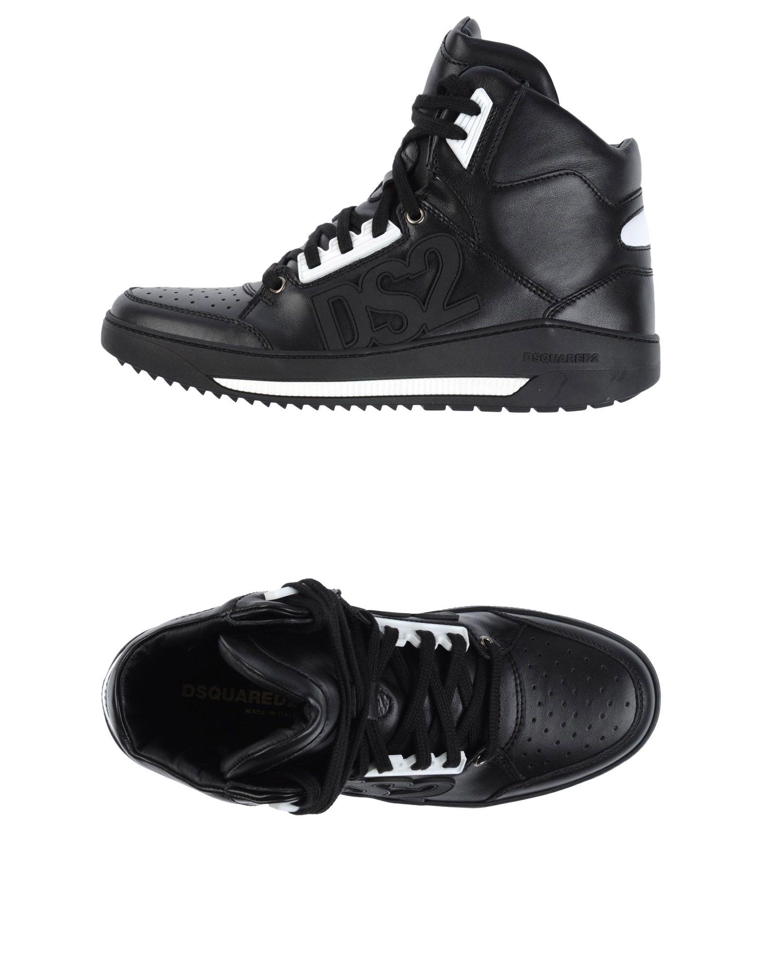 DSQUARED2 Высокие кеды и кроссовки цены онлайн