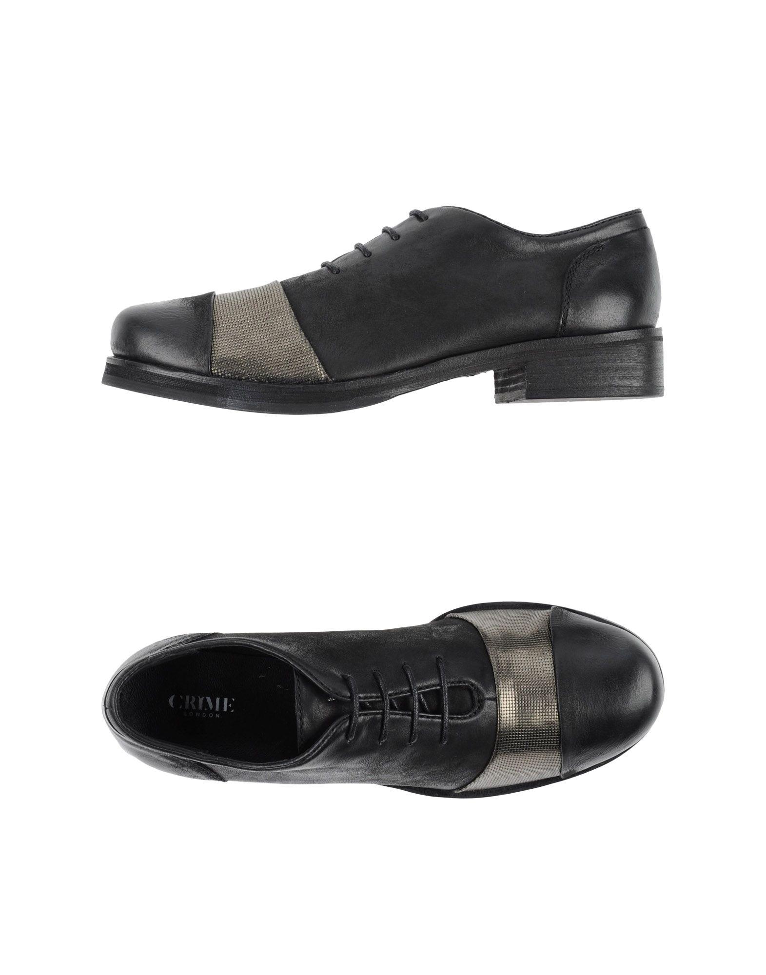 CRIME London Обувь на шнурках обувь на высокой платформе buffalo london 2013