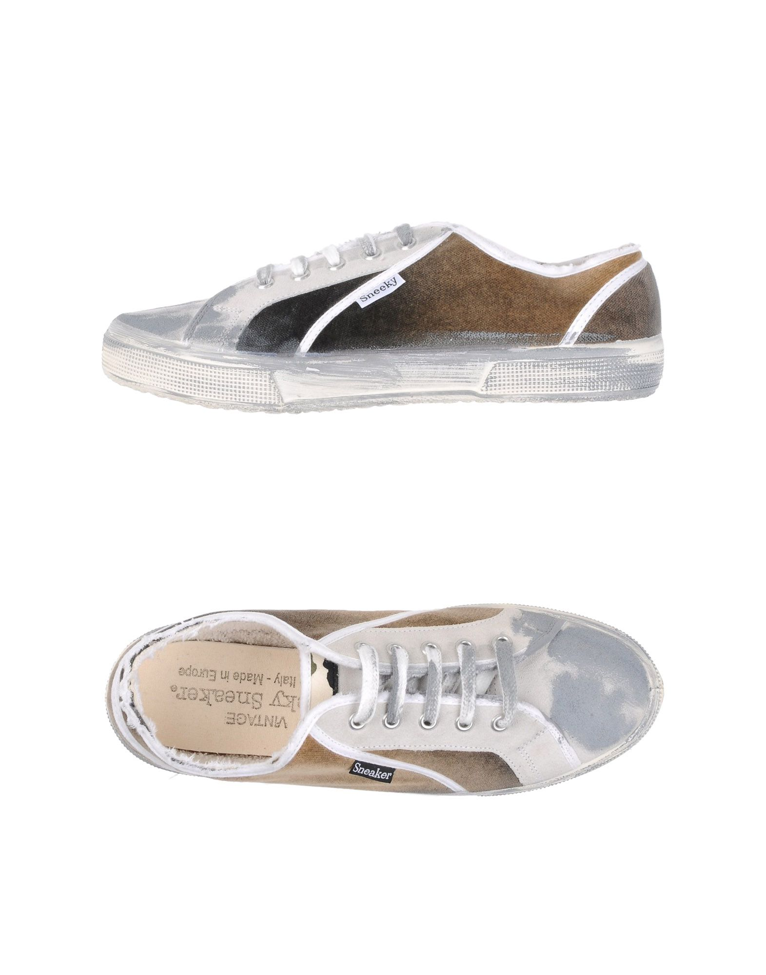 SNEEKY SNEAKER Низкие кеды и кроссовки кеды низкие selected duran new suede sneaker