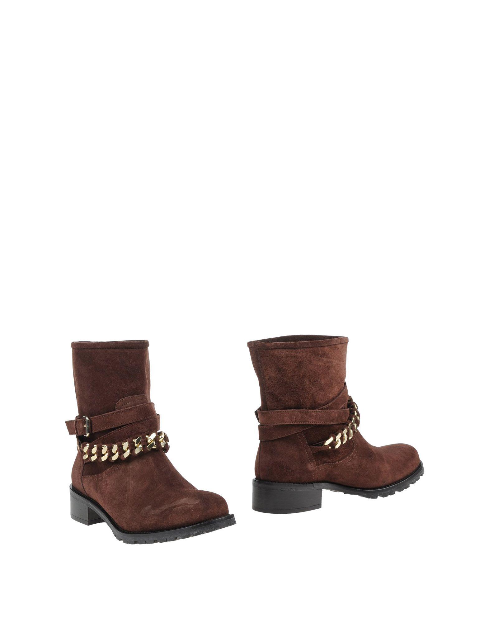ELISABETTA FRANCHI Полусапоги и высокие ботинки grey mer полусапоги и высокие ботинки