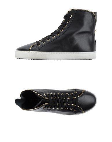 Фото - Высокие кеды и кроссовки от STOKTON черного цвета