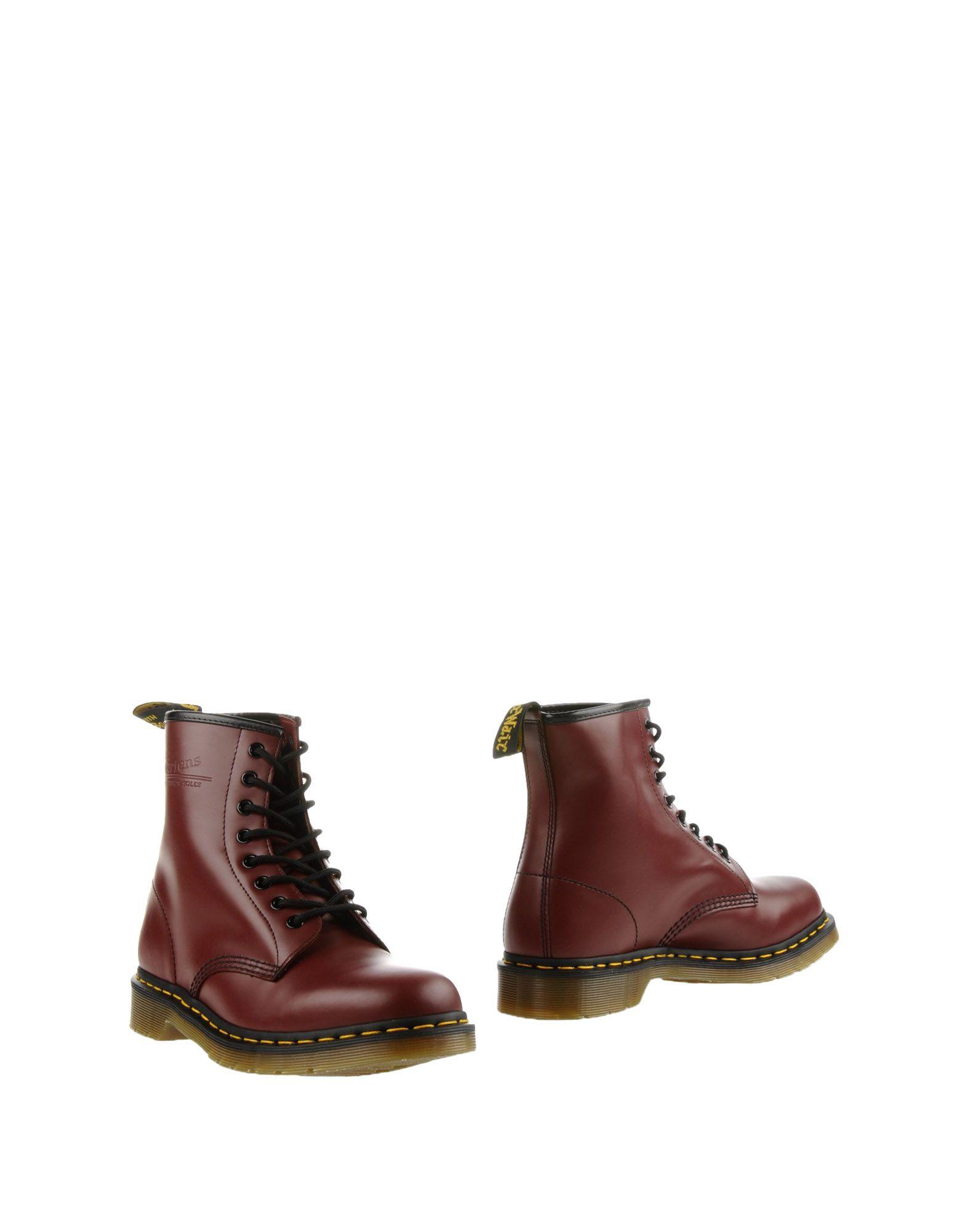 Фото - DR. MARTENS Полусапоги и высокие ботинки sebastian полусапоги и высокие ботинки