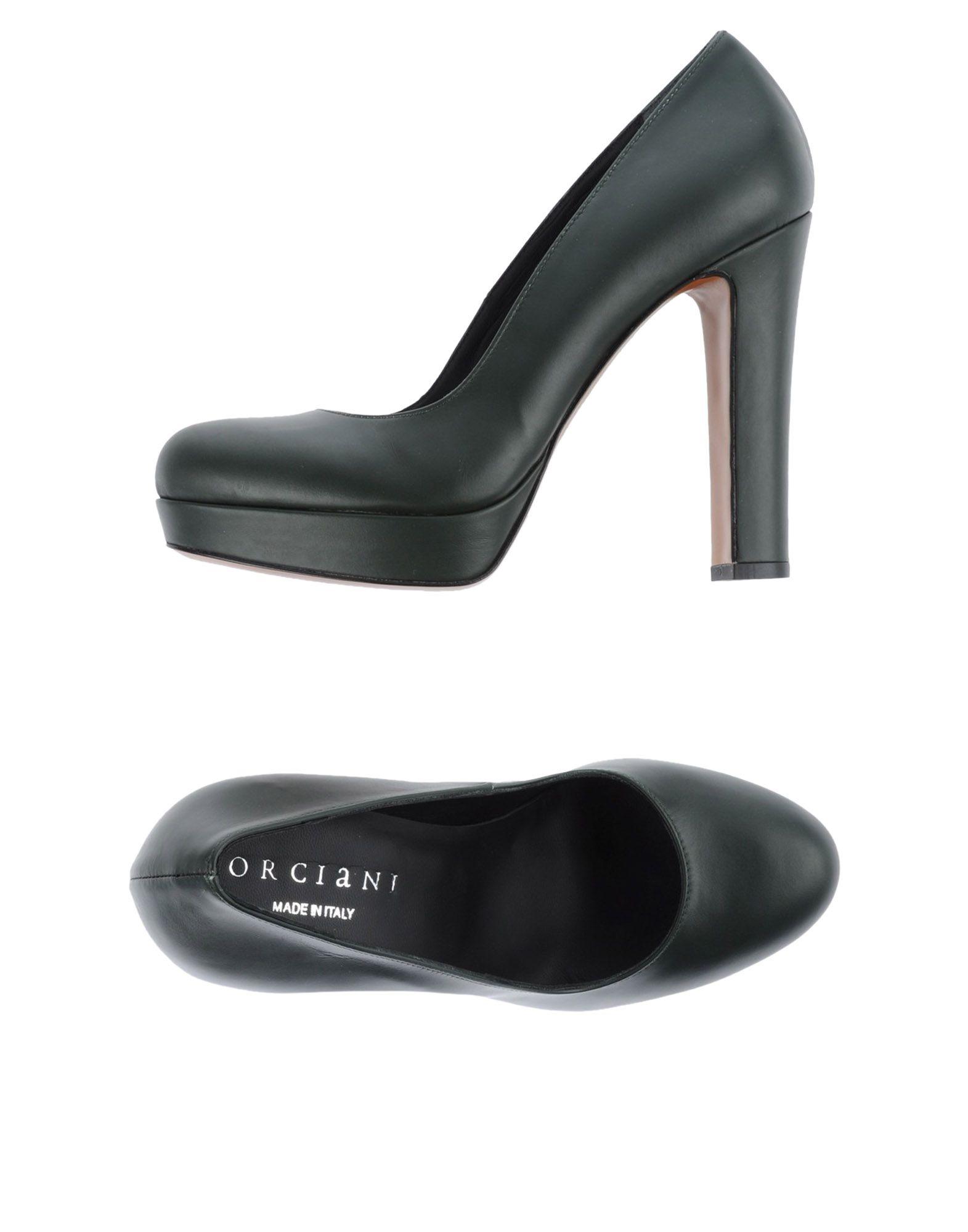 ORCIANI Туфли цены онлайн