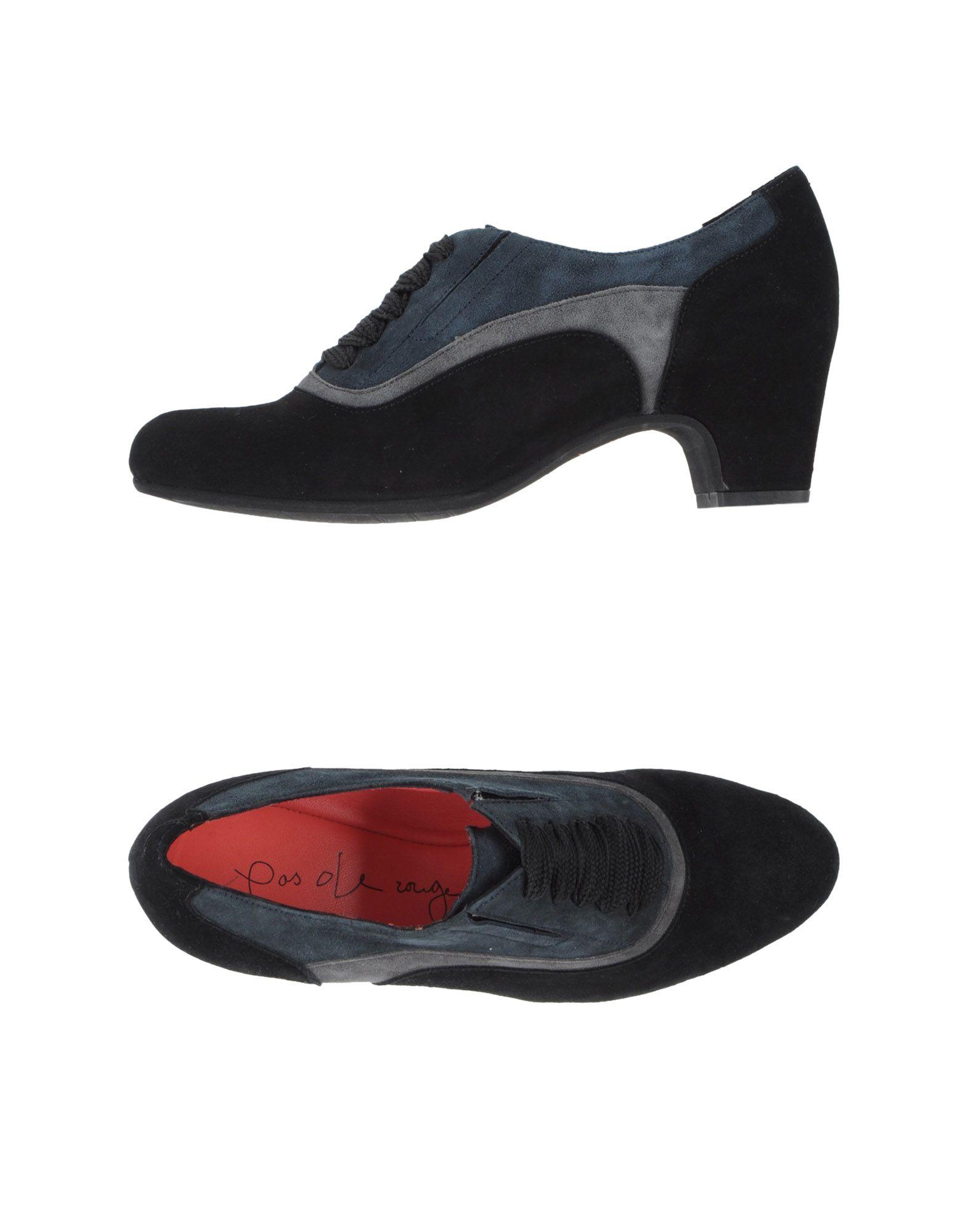 PAS DE ROUGE Обувь на шнурках обувь shoiberg