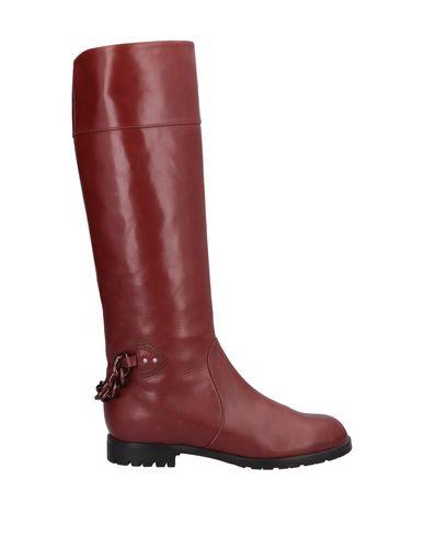 Купить Женские сапоги  кирпично-красного цвета