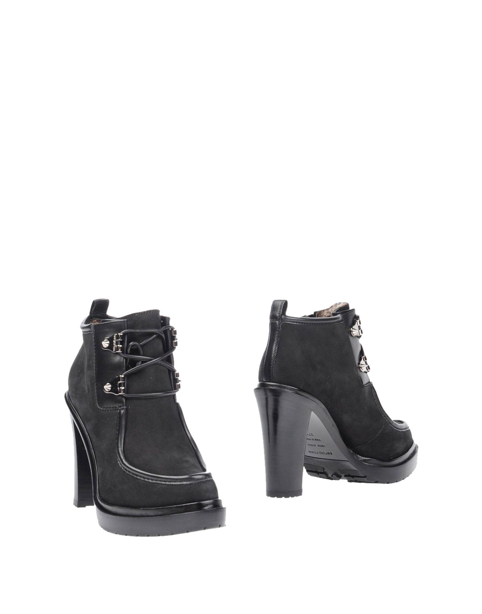 SERGIO ROSSI Полусапоги и высокие ботинки цены онлайн