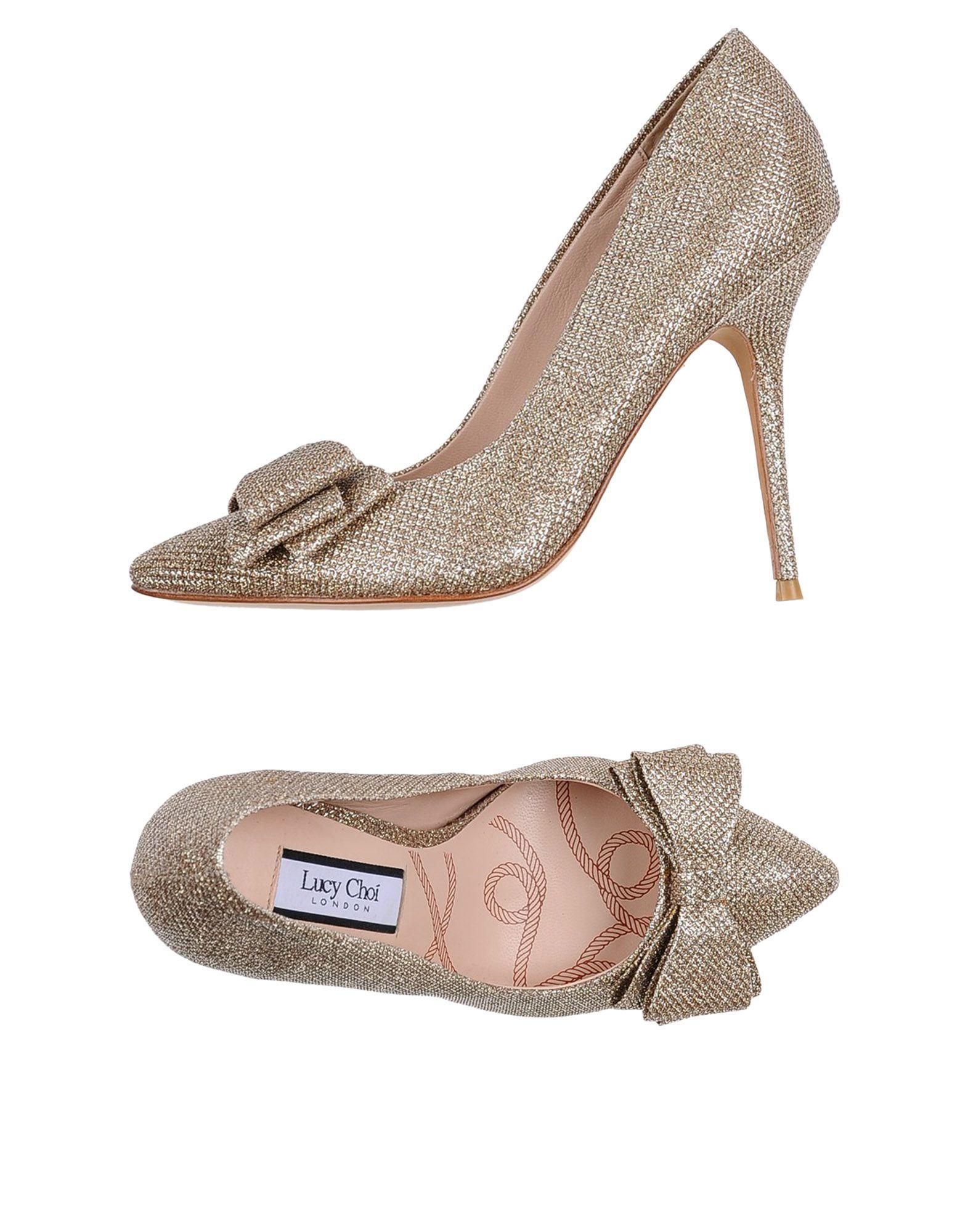 цена LUCY CHOI London Туфли онлайн в 2017 году