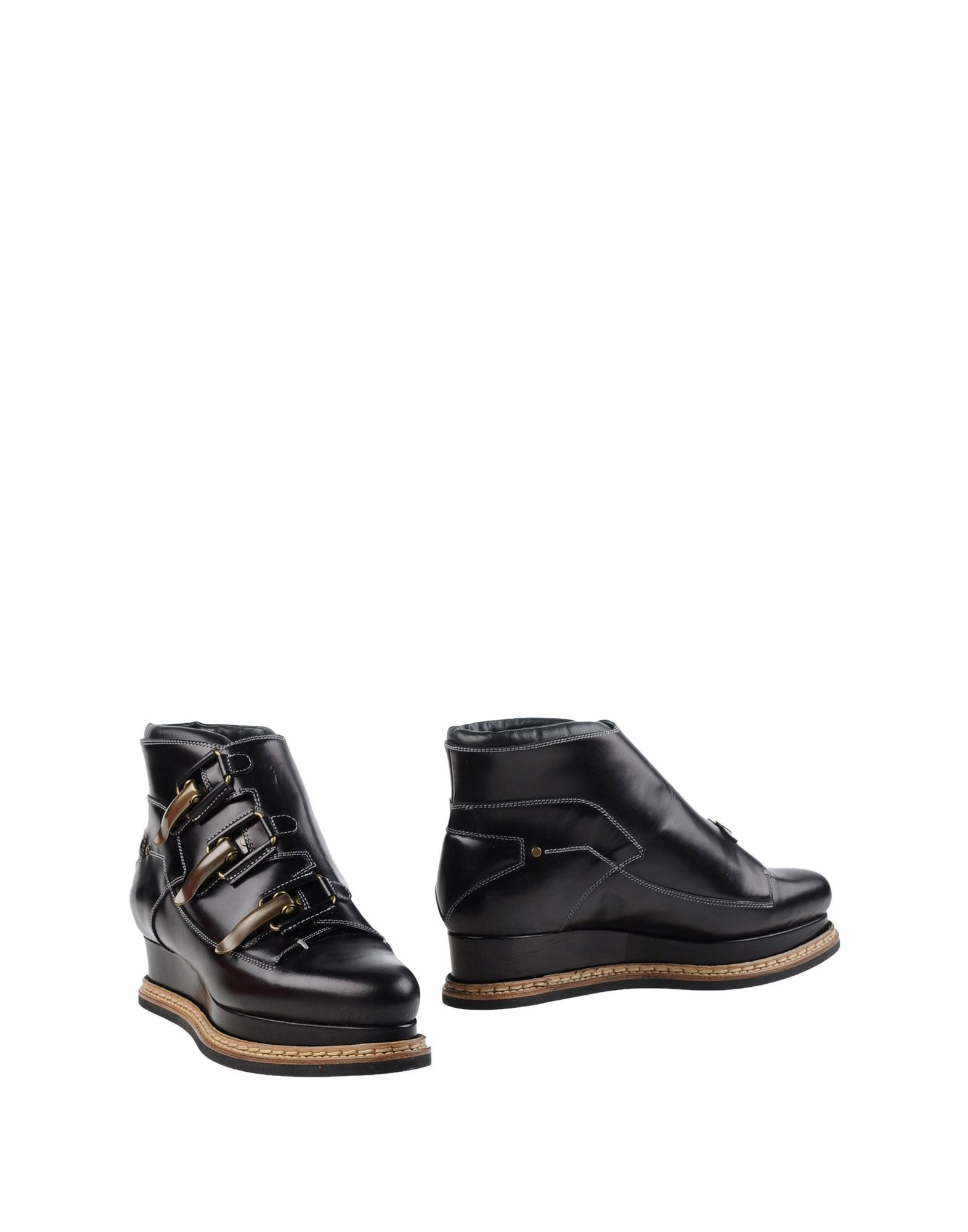 JIL SANDER Полусапоги и высокие ботинки grey mer полусапоги и высокие ботинки