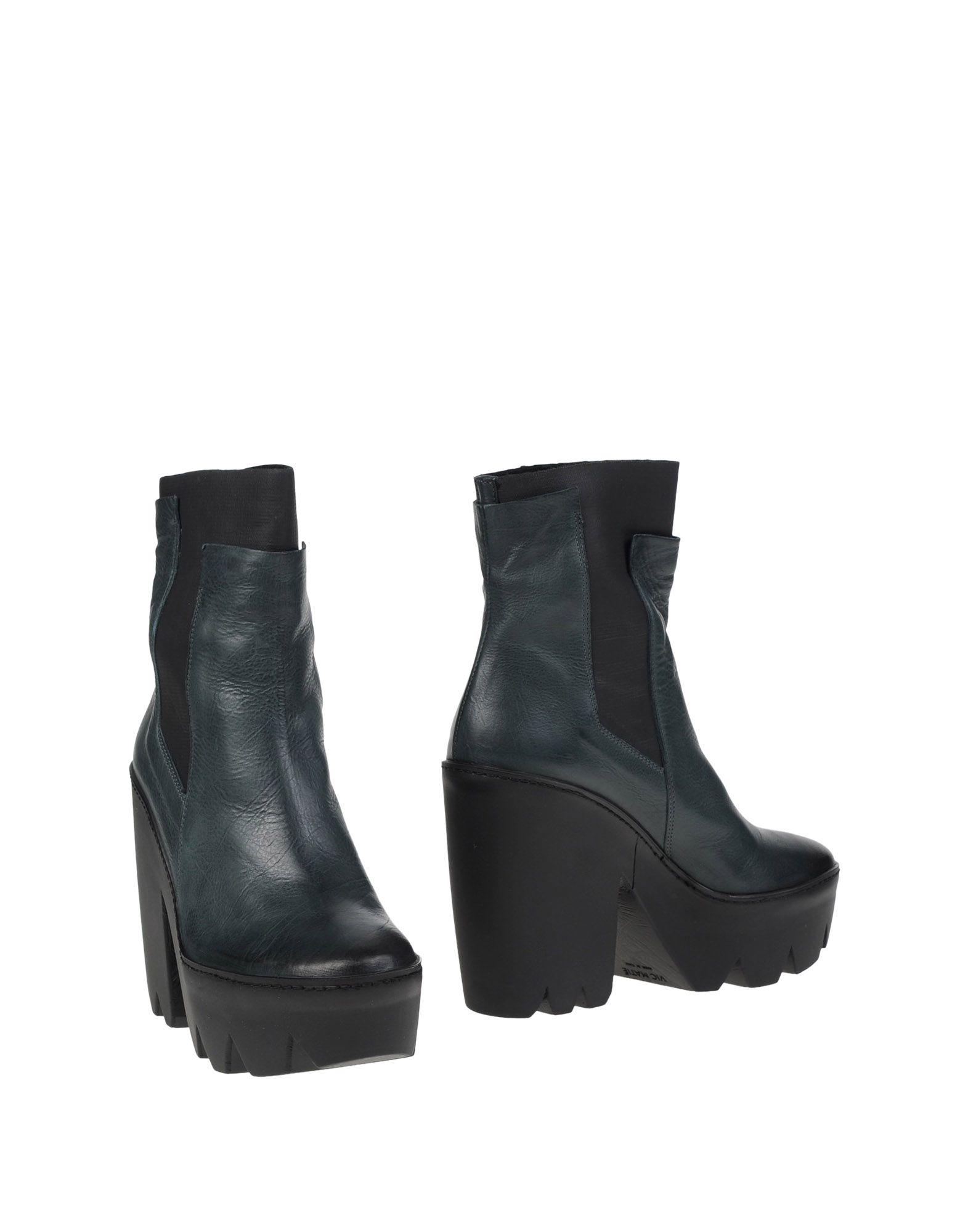 VIC MATIĒ Полусапоги и высокие ботинки vic matiē полусапоги и высокие ботинки