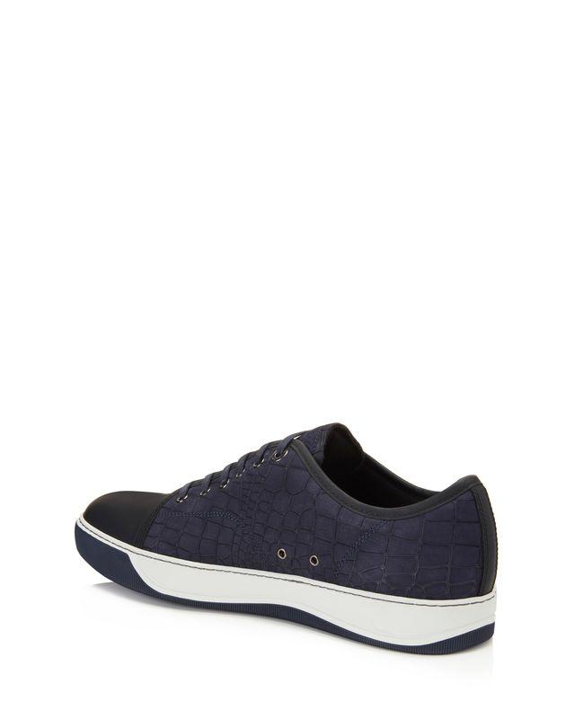 LANVIN DBB1 EMBOSSED CALFSKIN SNEAKER Sneakers U d