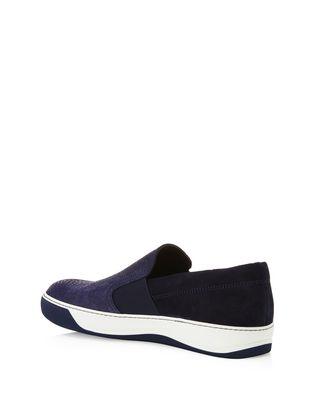 LANVIN EMBOSSED CALFSKIN SLIP ON SNEAKER Sneakers U d