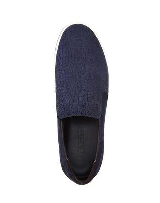 LANVIN EMBOSSED CALFSKIN SLIP ON SNEAKER Sneakers U r