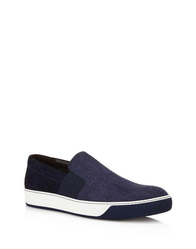 LANVIN EMBOSSED CALFSKIN SLIP ON SNEAKER Sneakers U f