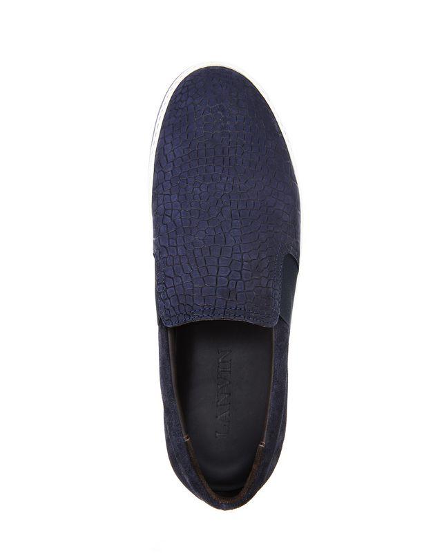 LANVIN EMBOSSED SLIP-ON SNEAKER Sneakers U r