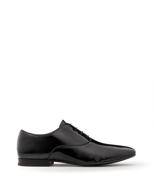 lanvin patent calfskin oxford men