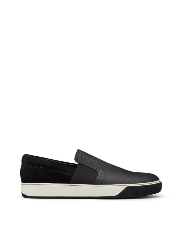 LANVIN GRAINED CALFSKIN SLIP-ON Sneakers U f