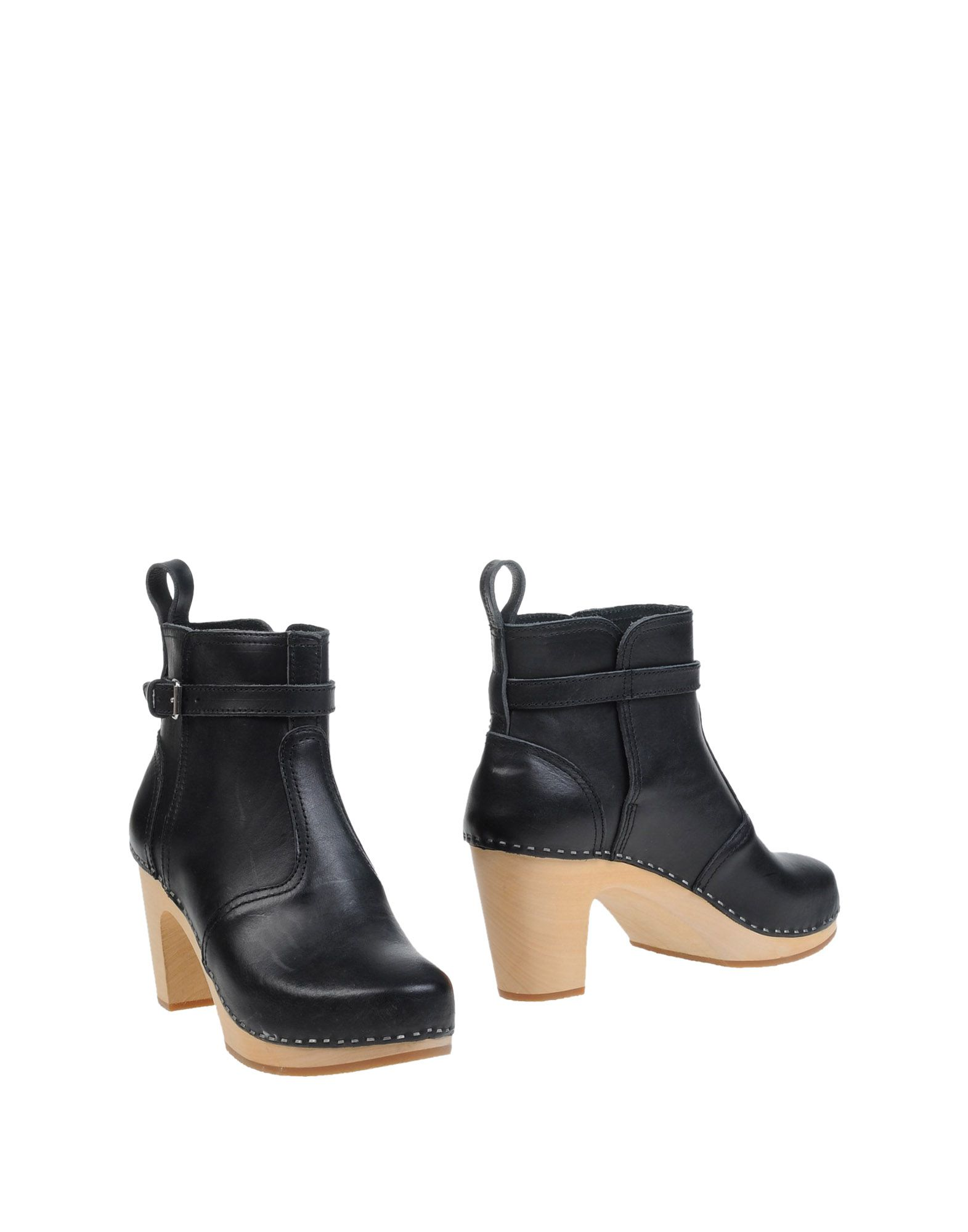 SWEDISH HASBEENS Полусапоги и высокие ботинки swedish hasbeens women s lacy platform sandal